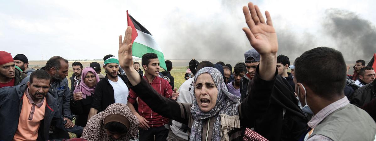 Arretons le massacre à Gaza!.jpg