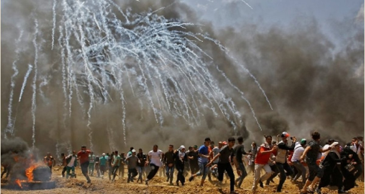 Massacres à Gaza (avril-mai 2018)