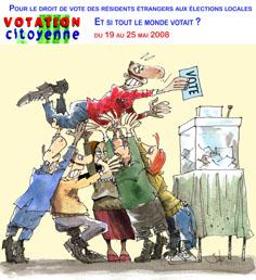 Affiche Votation citoyenne 2008
