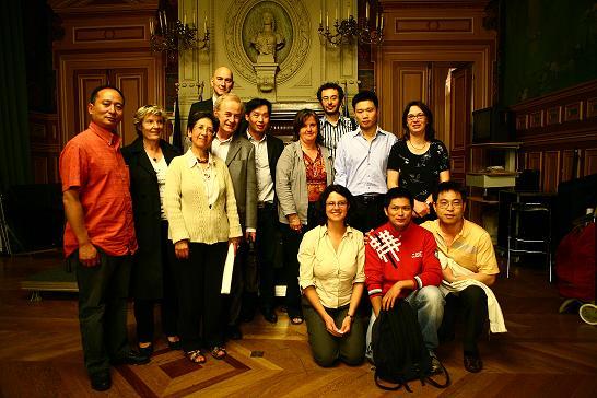 Photo réunion juin 2008