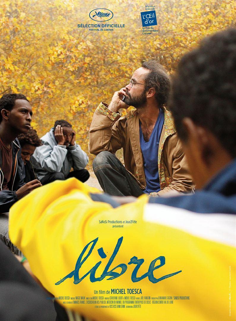 Affiche pour le film «Libre»