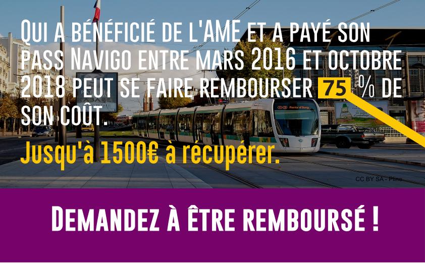Remboursement AME transport