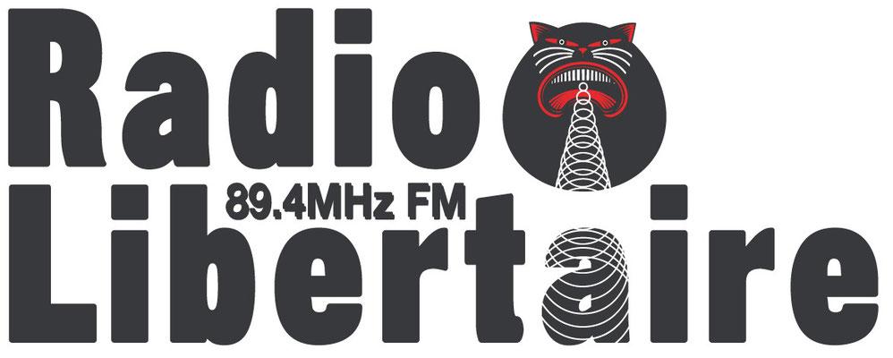 Logo de Radio Libertaire 89.4MHz FM