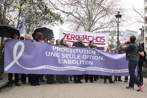 manifestation prostituées paris