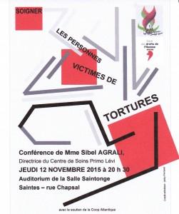 Affiche Saintes 12-10-2015